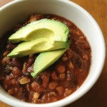 Tempeh and Bean Chili