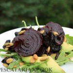 Marinated Portobello and Beet Salad